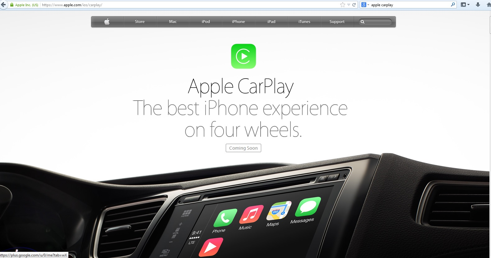 apple announces car play without securing the com. Black Bedroom Furniture Sets. Home Design Ideas